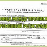 Какая разница между пропиской и временной регистрацией?